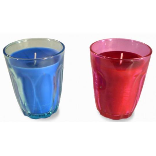 Photophore Bleu et Rouge