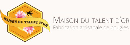 Maison Talent d'Or - Vente Bougies en cire d'abeille
